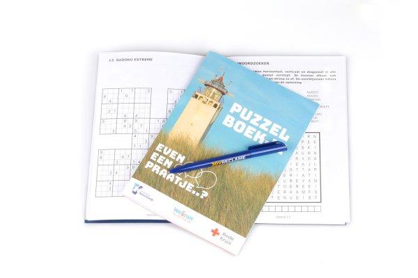 puzzelboekjes bedrukken, puzzelboek met logo, puzzelboek drukken eigen logo, puzzelboekjes personaliseren