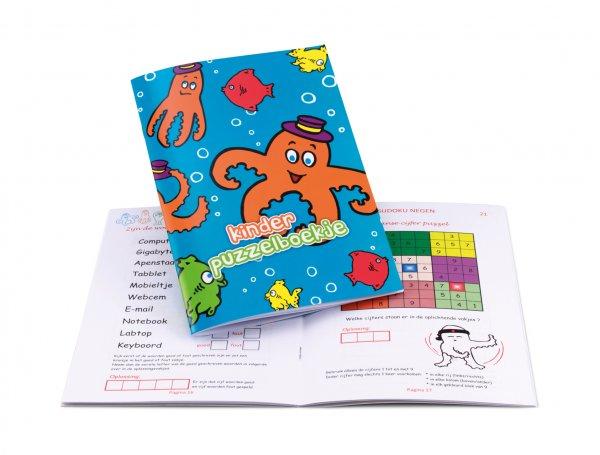 Kinderpuzzelboekjes bedrukken, puzzelboekje voor kinderen bedrukken