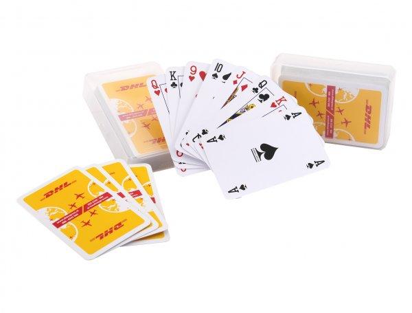 Kaartspel bedrukken met plastic doosje