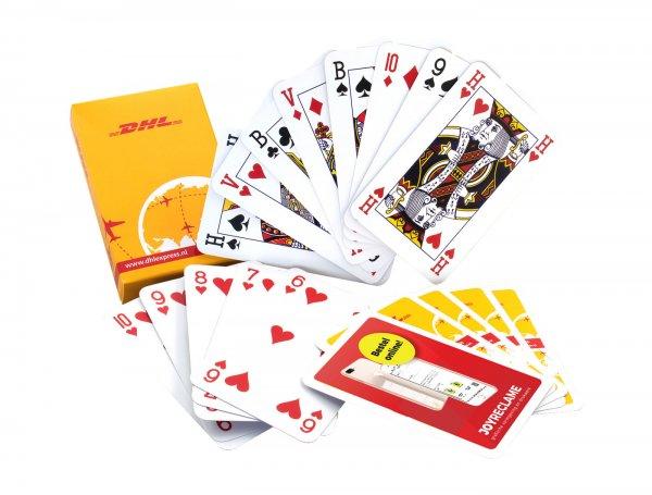 Speelkaarten bedrukken, goedkoop kaarten bedrukken