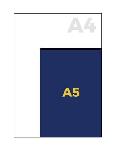 A5 formaat