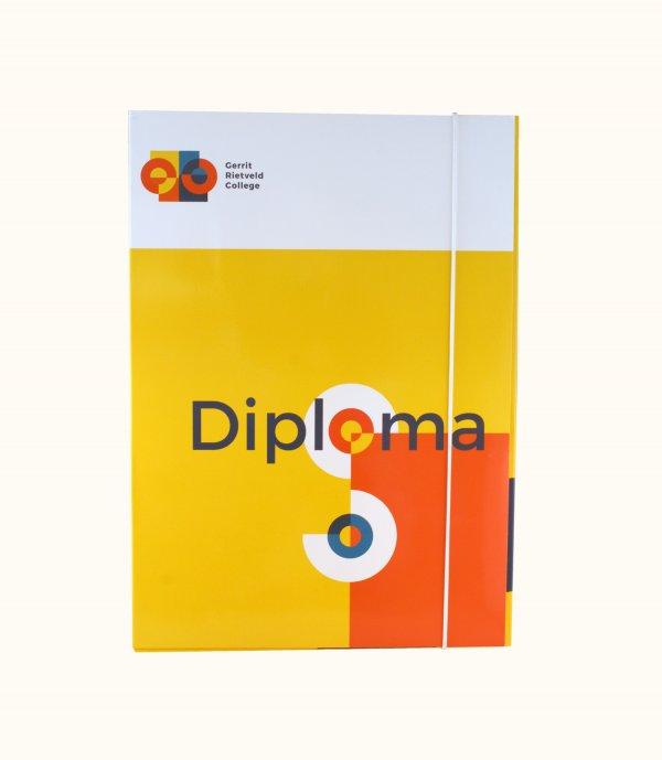Diploma mappen drukken, bedrukte diploma mappen, diploma mappen bedrukken