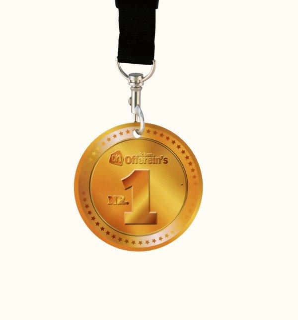 papieren medailles drukken, gedrukte papieren medailles