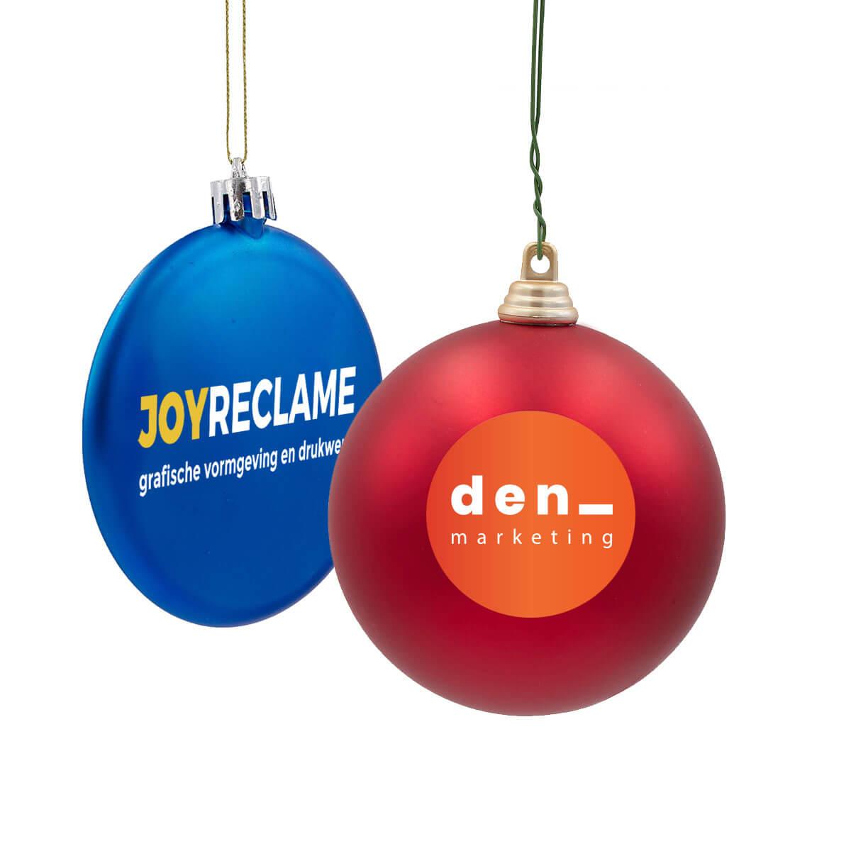 kerstballen bedrukken, bedrukte kerstballen, kerstbal brievenbus