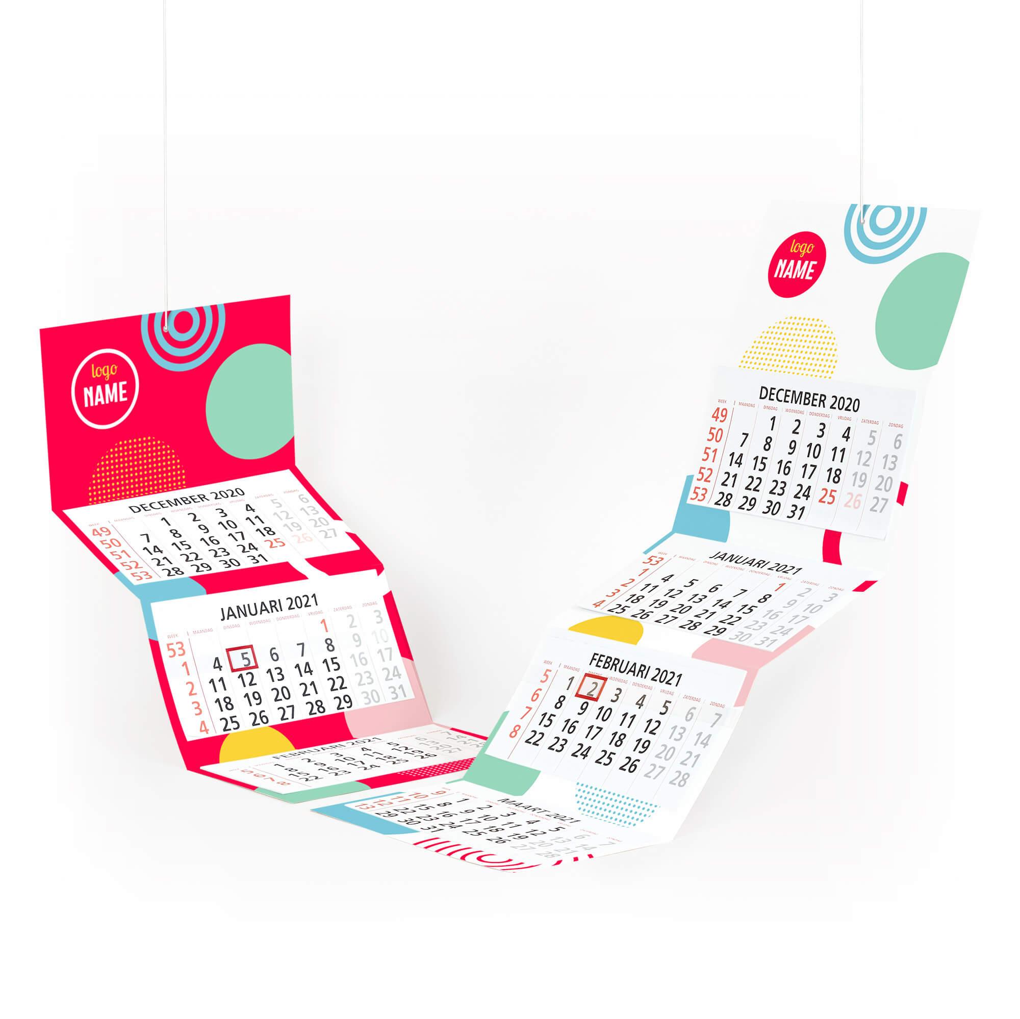 maandkalenders bedrukken
