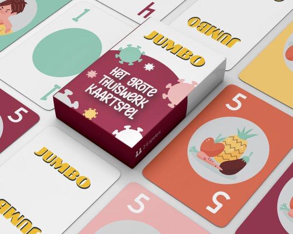 thuiswerk spel bedrukken, kaartspel bedrukken, corona spel bedrukken