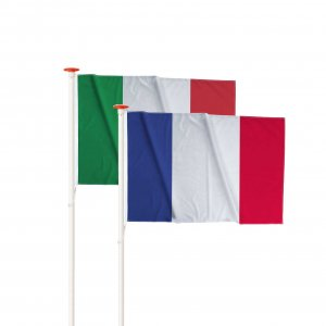 Vlaggen drukken, mastvlaggen bedrukken, bedrukte mastvlaggen, rechte vlaggen drukken, duurzame vlaggen drukken, landenvlaggen bedrukken