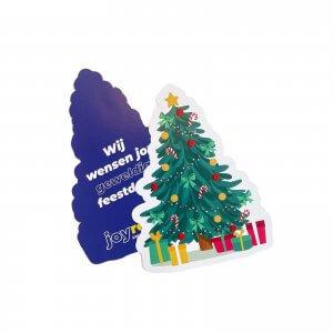 kerstboom kerstkaarten drukken, kerstkaarten kerstboomvorm, kerstboom kaarten drukken, kerstkaart met opdruk